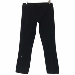 Lululemon Belt It Out Crop Black Leggings NO BELT